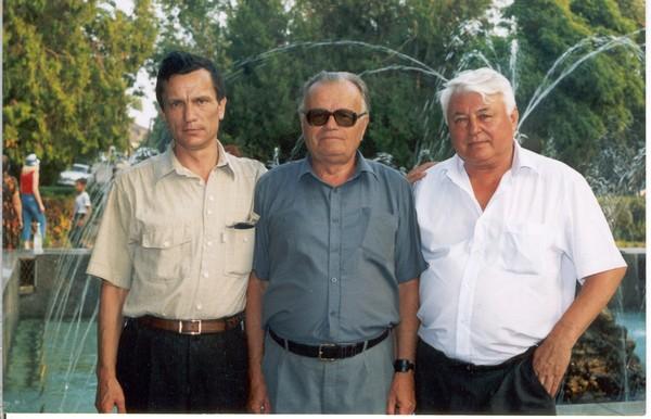 Гола Пристань. Літо 2003 р. В.Жураківський, М.Братан, А.Щербина