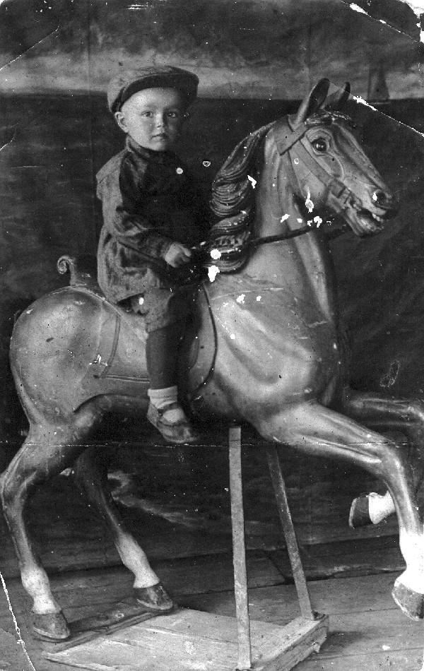 Перше дитяче фото. 1939-і роки