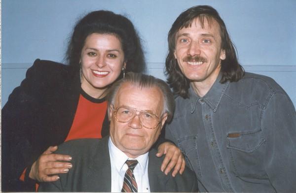 М.Братан із родиною Телюків, Наталією та Володимиром 2007 р.