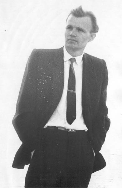 Поет М.Братан. 1960 р